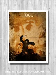 2001 A Space Odyssey   Stanley Kubrick movie by PosterInvasion