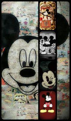 New Wallpaper Celular Fofo Minnie Ideas Disney Mickey Mouse, Mickey Mouse Kunst, Mickey Mouse E Amigos, Retro Disney, Mickey Love, Art Disney, Disney Images, Mickey Mouse And Friends, Mickey Mouse Cartoon
