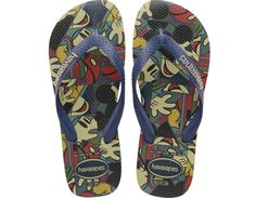 <p>Keep your feet fun and fancy free in the Kids Disney Stylish sandal featuring everyone's favorite Disney characters, Mickey and Minnie. Our signature textured footbed adds comfort to this carefree style.</p><ul><li>Thong style</li><li>Cushioned footbed with textured rice pattern and rubber flip flop sole</li><li>Made in Brazil</li></ul>