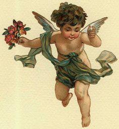 Cards Scrapbooking and Art: Vintage Angel & fairies (28)