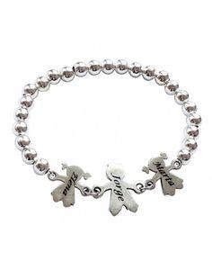 59efa992cb43 Linked in Love Sterling Silver Bracelet Linked in Love Sterling ...