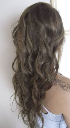Natural Looking Ash Brown Hair Colour.