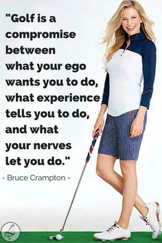 What Bruce Crampton thinks about golf. We couldn't agree more!