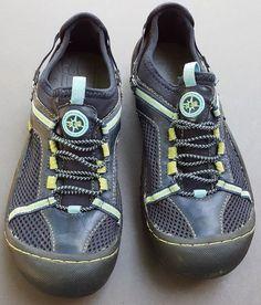 J-41 Adventure Shoes Water Ready Tahoe Beachcomber Blue Womens Size 7 Vegan #J41 #WaterReady