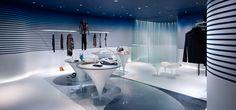 Jean Paul Gaultier presentó su propio diseño interior surrealista - estiramiento Tela techos Cerutti eco-ST