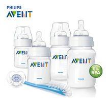 100% marca Original AVENT Baby Feeding / leite garrafa / enfermagem / Mamadeira 4 oz / 9 oz recém-nascido Starter Set(China (Mainland))