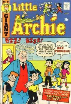 Little Archie 84, Archie Comic Publications https://www.pinterest.com/citygirlpideas/archie-comics/