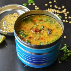 Classic north Indian dish bursting withflavours, healthy and comforting. All in a single bowl.This is a combination of three lentils – Mung Lentils, Pigeon pea lentils and Bengal gram. Trevti mean…