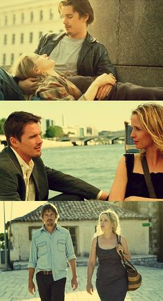 Love eventually brings lovers together. Before Sunrise, Before sunset and Before Midnight. The trilogy is a beautiful masterpiece of romance.
