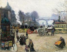 Achille-Émile Othon Friesz - Le Pont Neuf, Paris, c. 1903