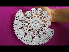 Crochet Doily Diagram, Crochet Doily Patterns, Crochet Squares, Crochet Motif, Crochet Designs, Crochet Stitches, Crochet Baby Shoes, Knit Or Crochet, Crochet Clothes