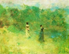 Thomas Wilmer Dewing(1851ー1938 an American painter)