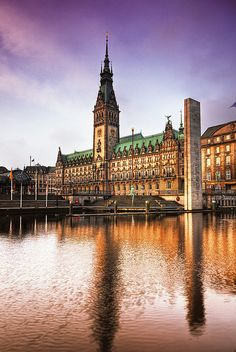 Hamburg, Germany.We arrived here by train from Sweden. Rented a car, drove the autobahn. Whee!!!!
