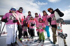 Pink Vail: A Bright Hue for Hope Pink Costume, Perfect Pink, Hue, Skiing, Bright, Costumes, Ski, Dress Up Clothes, Men's Costumes