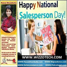 NATIONAL SALESPERSON DAY National Salesperson Day an unofficial National holiday is celebrated on the first Friday in March. This day honors the value and dedication of the professional salesperson as well as the hard work that they perform. #youthicon #motivationalspeaker #inspirationalspeaker #mentor #personalitydevelopment #womenempowerment #womenentrepreneur #entrepreneur #ruzankhambatta #womenleaders #NATIONALSALESPERSONDAY