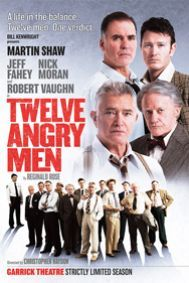 Twelve Angry Men. Garrick Theatre  great acting by the whole cast,me & the girls.