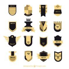Colección escudos Retro