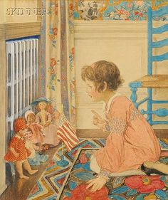 Doll school....Elizabeth Schippen Green