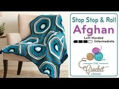 Stitch, Stop & Roll Afghan Winner of 50 Balls of Yarn - The Crochet Crowd