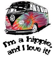 I'm a little hippie!