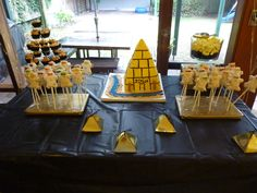 Egyptian Party, little mummy pops, so cute