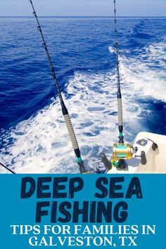 Tips For Your First Family Deep Sea Fishing Trip in Galveston, Texas. Great fun for families with older kids and teens. #galveston #texas #travelTX #fishing #snapperfishing #charterfishing