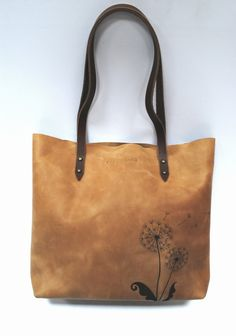 bags purses totes tote with print sand-colored leather by Stasukan