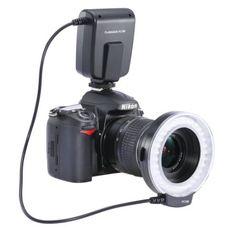 Neewer FC100 32 Super Bright LED Macro Ring Flash For Canon, Nikon,Olympus, Pentax SLR Cameras (Will Fit 52, 55, 58, 62, 67, 72, 77mm Lenses) Canon Digital EOS Rebel T1i (500D), T2i (550D), XSI (450D),XTI (400D), XT (350D), 60D , 50D, 40D, 30D, 20D, 10D, 1D, 5D Mark 2, 5D Mark 3, Nikon D7000, D3200, D3100, D5100,D5000
