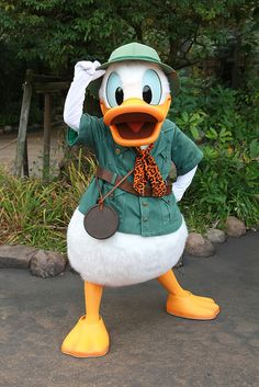 *DONALD ~ Tokyo DisneySea by ナギ (nagi), via Flickr