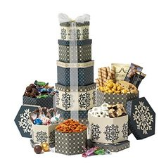 Broadway Basketeers Chocolate and Sweets Gift Tower - http://bestchocolateshop.com/broadway-basketeers-chocolate-and-sweets-gift-tower/