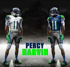 PERCY HARVIN 2 #seattle #seahawks #NFL