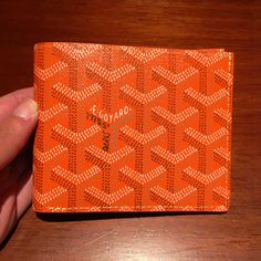 Goyard men's bifold wallet flap color each color GOYARD - BUYMA #bags