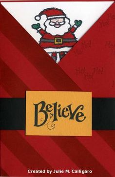 Believe by juliecal - Cards and Paper Crafts at Splitcoaststampers
