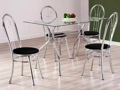 conjunto de mesa com 4 cadeiras madri - design final