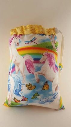 Check out this item in my Etsy shop https://www.etsy.com/listing/508046035/size-large-pipe-bag-unicorn-rainbows