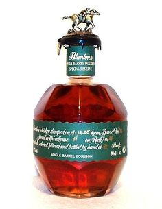 Blanton's Bourbon. Really one of my top 3 favorites! And do you know the story behind the horses on the top of the bottles??? It's a neat one if you don't.