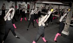 Kettle bells at Barre Bee Fit #workout