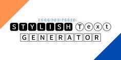 Stylish Text, Logos, Logo
