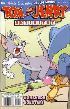 GCD :: Cover :: Tom og Jerry Aktivitetshefte; Tom og Jerry Aktivitet #2/2015 Tom Og Jerry, Elmer Fudd, Daffy Duck, Comics Story, Looney Tunes, Funny Animals, Toms, Barn, Cover
