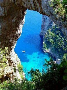 La maravillosa isla de capri..Italia