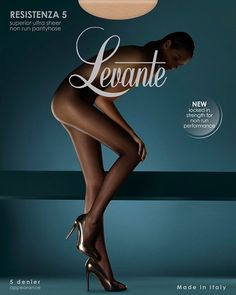Levante Resistenza 5 denier Sheer-To-Waist Tights