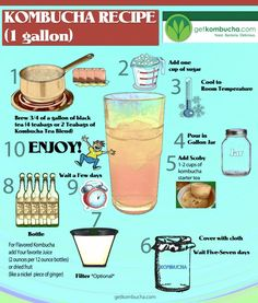50 Amazing Kombucha Recipes and How To Make Kombucha Soda | WholeLifestyleNutrition.com