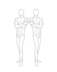 CROQUIS FOR FASHION DESIGN on Pinterest | Female Fashion ...