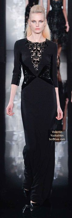 Valentin Yudashkin FW 2014 #ParisFashionWeek