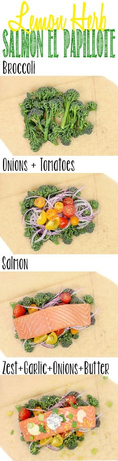 Lemon Herb Salmon El Papillote