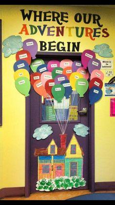 Disney classroom door decorations back to school 61 Ideas Disney Classroom, Classroom Fun, Future Classroom, Door Decorations Classroom Back To School, Preschool Classroom Decor, Classroom Design, Preschool Door Decorations, Classroom Door Displays, Display Boards For School