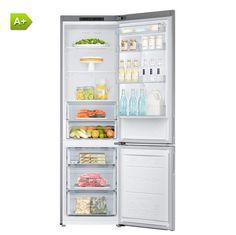 Refrigerateur congelateur en bas Samsung RB37J5000SA SILVER pas cher prix promo Réfrigérateur Darty 599.00 € TTC au lieu de 749 €