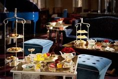 I Know This Great Little Place's... THE FINEST CUPPAS IN THE LAND; LONDON'S TOP AFTERNOON TEA SPOTS...