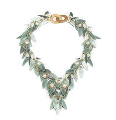 Ralph Bakker - Necklace: gold silver enamel pearls