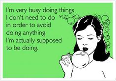 This is me with a day off!